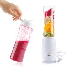 1 Stück Elektrische Saftpresse Tragbare Mini Fruchtsaft Mischer Trinken Flasche Smoothie Maker Saft Mixer Küche Werkzeuge EU Stecker