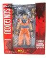 Nuevo bandai dragon ball z dbz goku saiyan normal Tamashii S. H. Figuarts 6 pulgadas/15 CM PVC Acción Mini Model Collection juguetes
