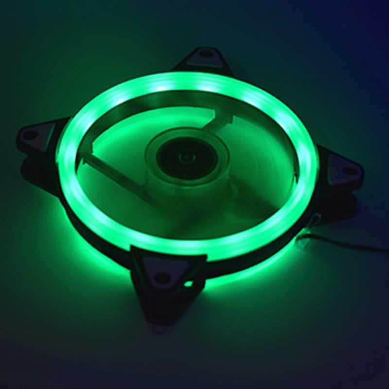 Verstelbare Computer Koelventilator 120 Mm Fan Pc Case Fan Coolercase Glare Rood Blauw Groen Wit Koeler Fans Voor Computer koeler Rgb