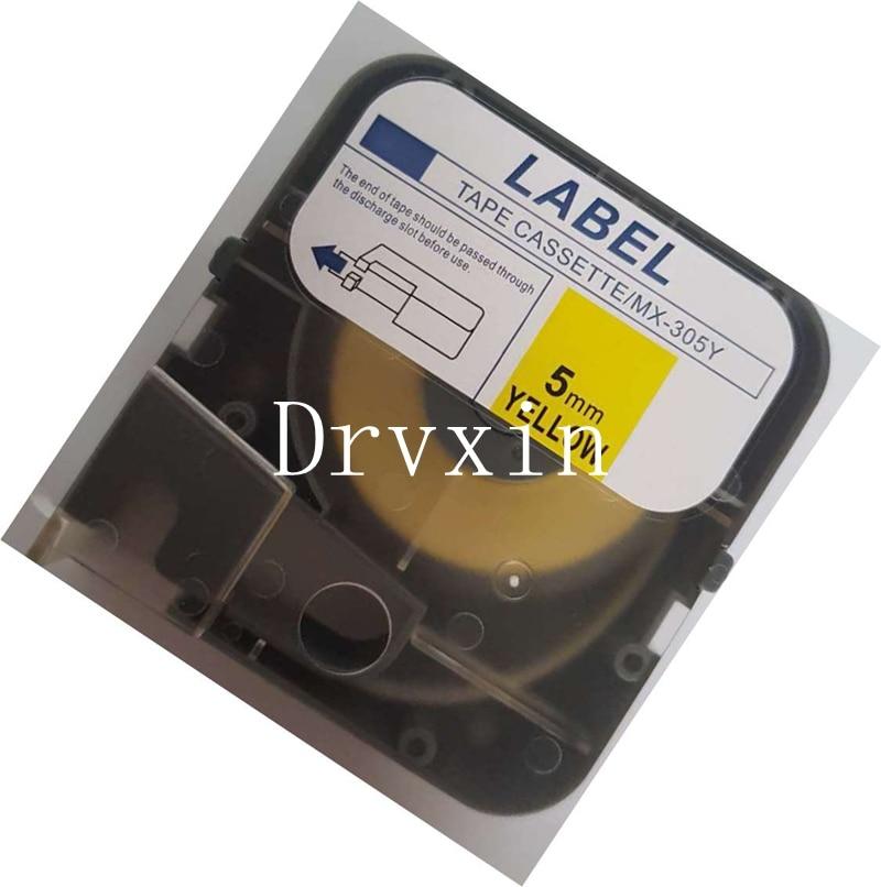 US $62 55 10% OFF Free shipping 10 PCS MAX stickers MAX tube marking  machine electronic printer cartridge marking printer cable markers MAX  sticke-in