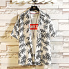 Print Brand Summer Hot Sell Men's Beach Shirt Fashion  1