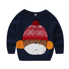 Baby Girls Clothes New 2016 Autumn Winter Baby Boys Girls Sweaters High high quality cartoon sweater age from Three-8T