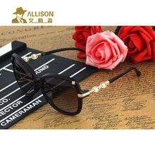 allison A0619 Women sunglasses Polarized fashion pearl legs little Flowers decorated classic sun glasses Casual driving shop