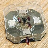 Безопасная эффективная ловушка для тараканов Анти тараканов Убийца Приманки Box Отпугиватель Дом Офис Кухня таракан содержит D