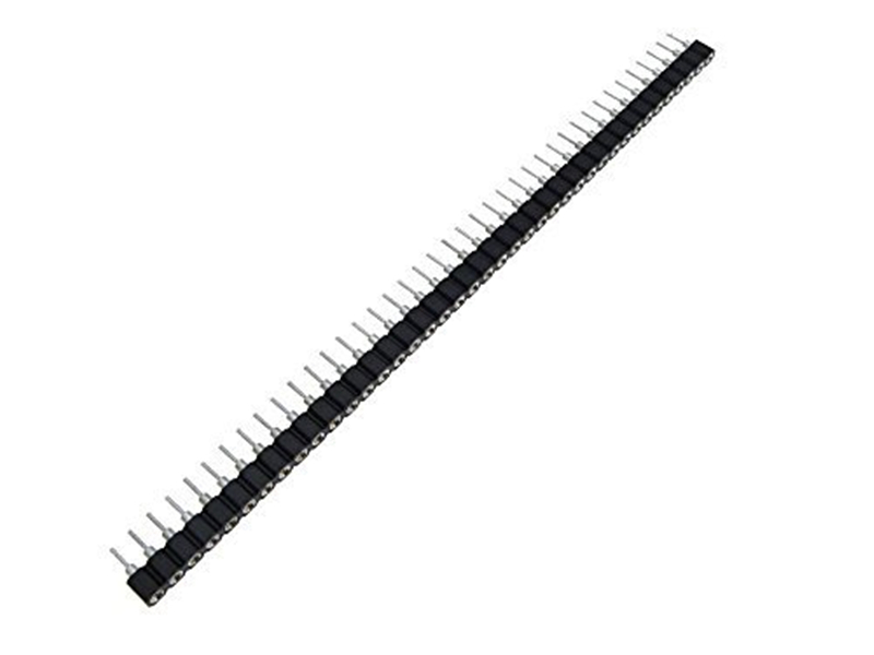 10pcs 40p 40 pin 2 54mm single row male header swiss round machined pins
