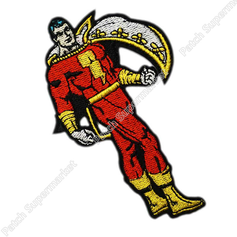 Captain Marvel Super Hero Embroidered Iron on Sew on PatchBadge For Clothes etc