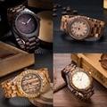 2017 New Mans Wooden Wristwatch Brand Uwood Quartz Watch Natural Sandal Walnut Wood Wristwatch Wooden Watch for Men Women Unisex