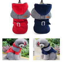 2016 Pet Dog Clothes Winter Warm Dog Hoodie Coat Clothing Japanese Woolen Cloth for Chihuahua Yorkie Dog Pet Products PT129
