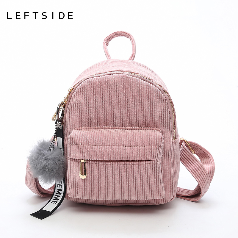LEFTSIDE Women 2017 Cute Backpack For Teenagers Children Mini Back Pack Kawaii Girls Kids Small Backpacks Feminine Packbags kapous studio professional крем краска для волос экстрактом женьшеня и рисовыми протеинами 4 0 коричневый 100 мл