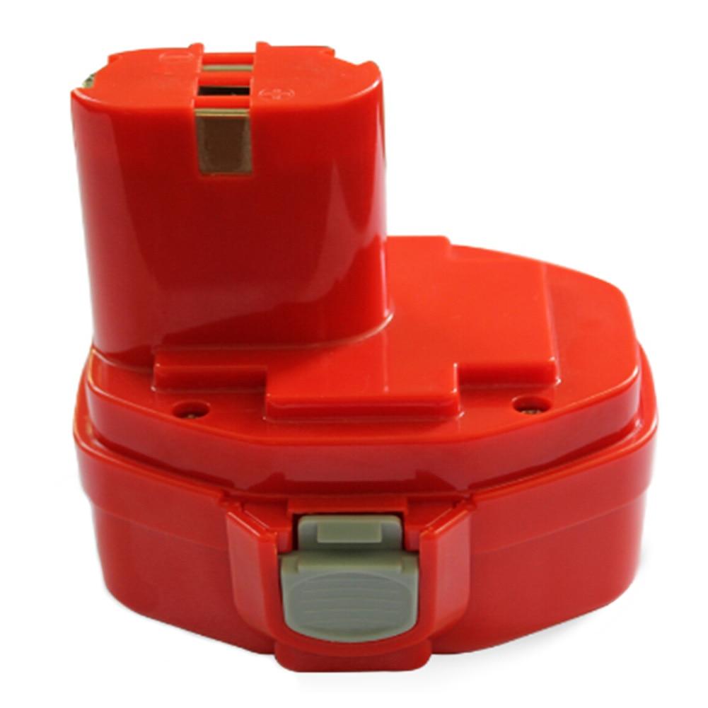 ГФЭ Новый 2.0AH 14.4 В Аккумулятор для <font><b>Makita</b></font> 1420 1422 194172-2 PA14 Аккумуляторная Дрель Красный