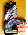 Envío libre, calidad de la Marca de fútbol guante, guantes de fútbol Americano, mejor agarre, equipo del personalizar logo. cliente hecho,