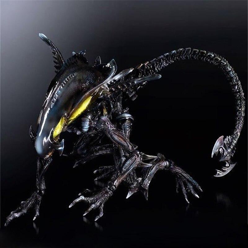 10 arts kai neca aliens colonial flotta alien genocidio xenomorph predators action pvc figure da collezione modello bambola original aliens colonial marines quintero