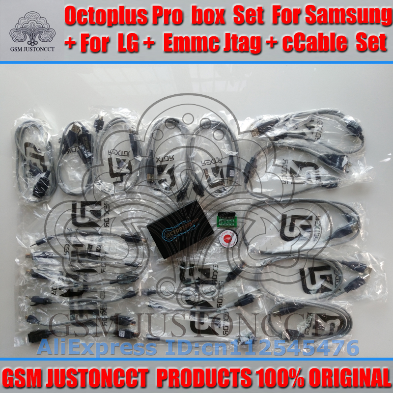 gsmjustoncct Octoplus Box Full Set for Samsung For LG+Medusa JTAG Activation  (Package+19 cable set) added  for sam N900A&N900Tgsmjustoncct Octoplus Box Full Set for Samsung For LG+Medusa JTAG Activation  (Package+19 cable set) added  for sam N900A&N900T