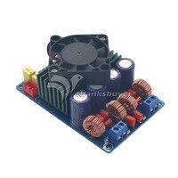 Classe T Amplificateur Numérique Conseil Stéréo 2x160 W HIFI AMP avec Ventilateur pour Audio DIY Mieux que TDA7498E TK2050 TDA8950 TPA3116