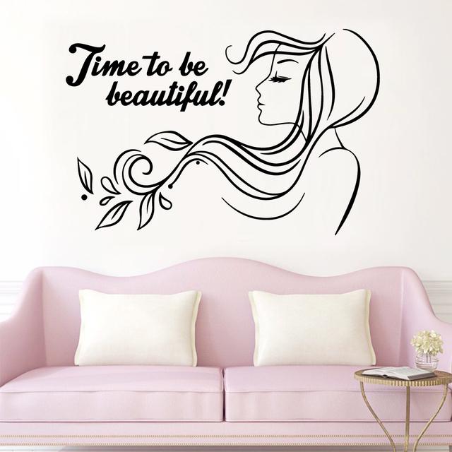 Beautiful Phrase Vinyl Wall Sticker