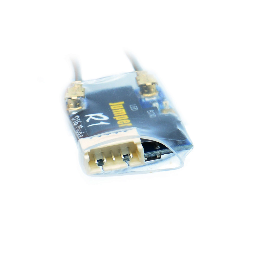 Jumper R1 Frsky D16 Receiver 4~6V 16CH SBUS with IPEX connector Compatible FrSky D16 Mode device for FPV RC racing drone part