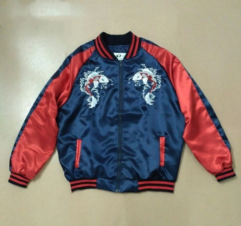 Kpop BTS SUGA blue embroidery loose zipper baseball hoodies
