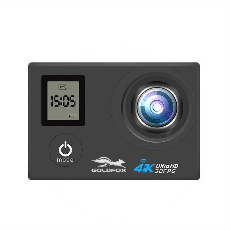 """H10 экшн Камера Full HD 4 K WI-FI 2,0 """"ЖК-дисплей Экран двойной Экран мини-камера на шлем для Водонепроницаемый спортивная видеокамера для подводной съемки и Камера видео запись видеокамеры"""