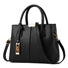 купить High Quality Women Handbag 2019 New Women Messenger Bag Casual Women PU Leather Handbags Lady Classic Shoulder Bags Female Tote по цене 403.16 рублей