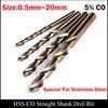 18 5mm 19mm 19 5mm 20mm High Speed Steel HSS Cobalt CO HSS CO Fully Ground