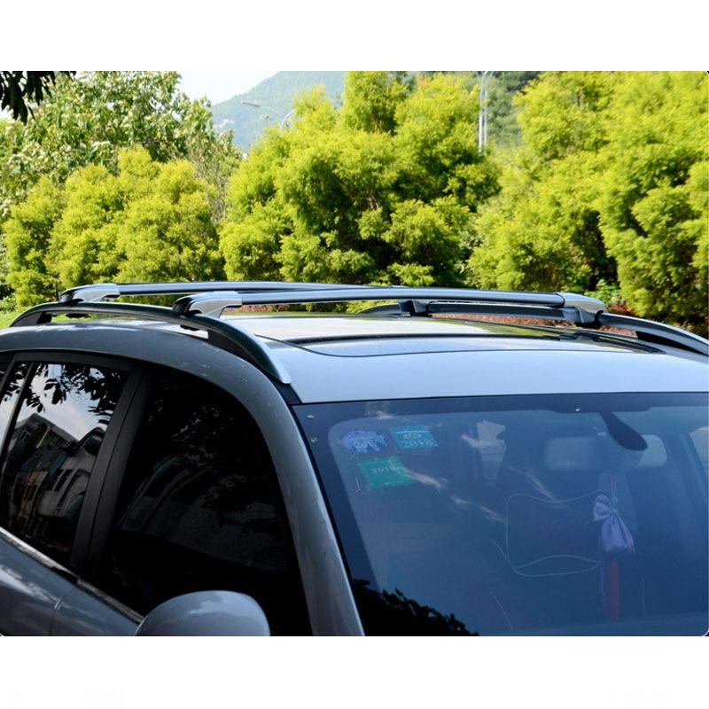 Wholesale aluminum alloy cross bar sliver and black colour roof rack for fortuner 16+