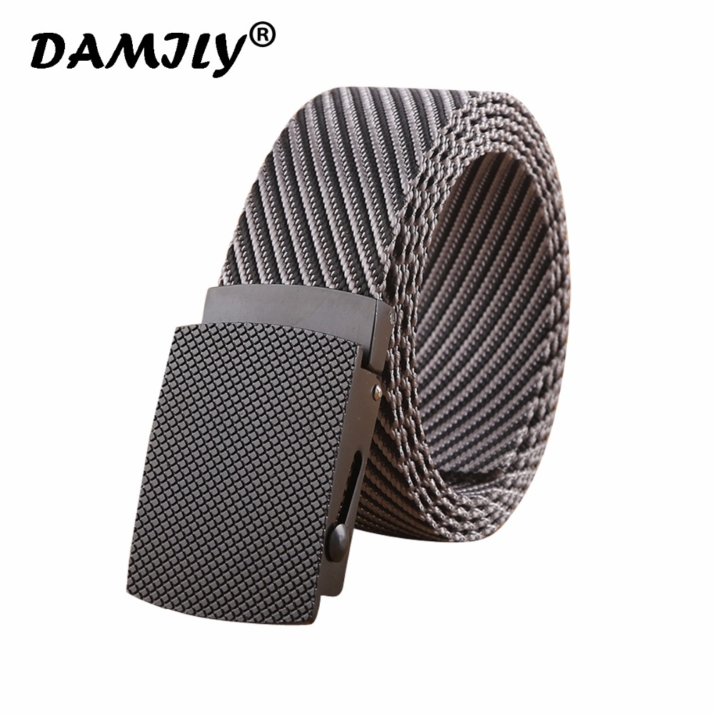 Men's Tactical Belt Heavy Duty Webbing Belt Military Style Nylon Belts with Alloy Buckle for Male Outdoor Belt For Jeans