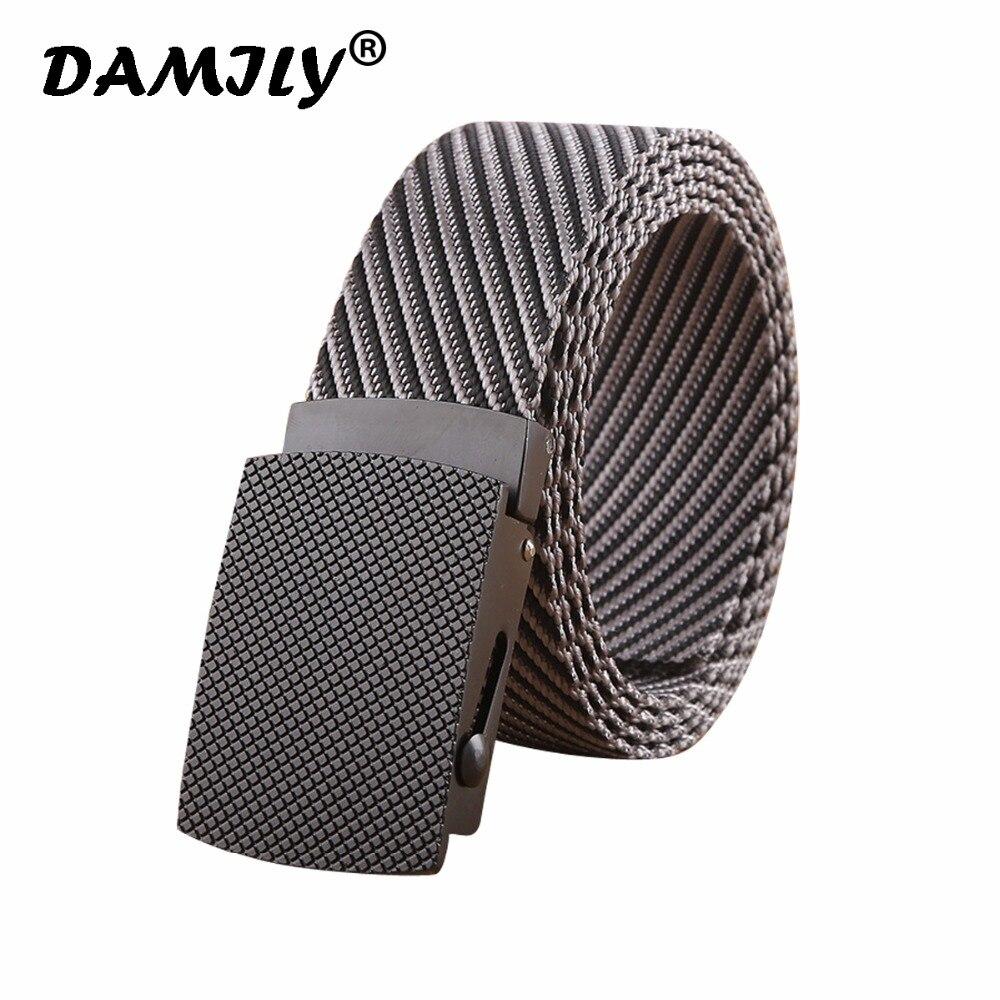 Men's Tactical Belt Heavy Duty Webbing Belt Military Style Nylon Belts with Alloy Buckle for Male Outdoor Belt For Jeans