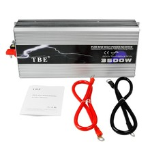 цена на 3500W Car Inverter Pure Sine Wave Inverter DC 12V/24V/48V to AC 110/220V Car Converter Solar Power Inverter Peak Power 7000Watts