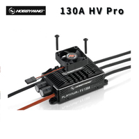Hobbywing Platinum 130A HV Pro V4 BEC 5 14S Lipo Empty mold Brushless ESC for 550 600 Class Heli 90 140 Fixed wing Airplane EDF