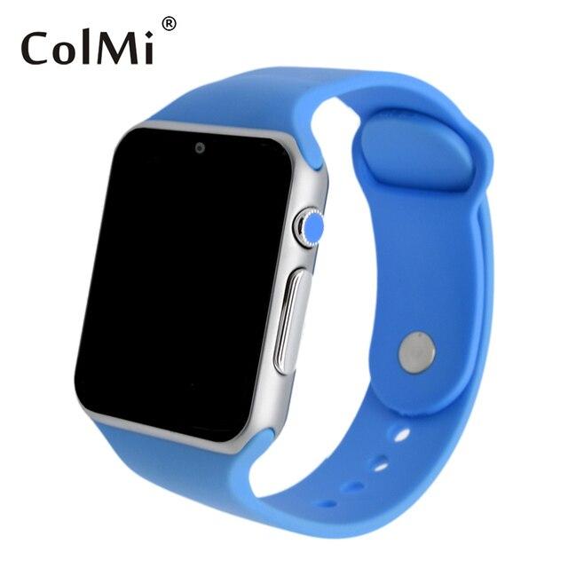 ColMi Смарт Часы VS20 Plus Heart Rate Sim-карты Совместимость IOS Android Bluetooth Подключить Apple, Телефон Толчок ПРИЛОЖЕНИЕ Сообщение Smartwatch