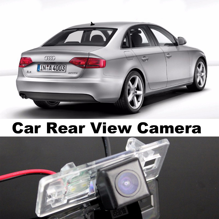 Car Camera For Audi A4 A4L S4 RS4 B8 2009~2014 High Quality Rear View Back Up Camera For Top Gear Friends to Use  CCD With RCA