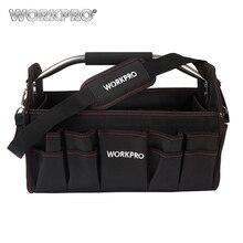 """WORKPRO 16 """"600D Faltbare Werkzeugtasche Umhängetasche Handtasche Werkzeug Organizer Aufbewahrungstasche"""