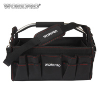 WORKPRO 16 FOLDABLE TOOL BAG 600D Shoulder Bag Handbag High Quality New