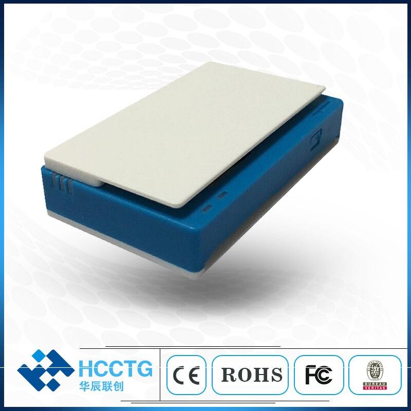 Cartão de Crédito Máquina com Bluetooth Msr + Contato Android Chip Furto Mpr100 Ios – Emv ic