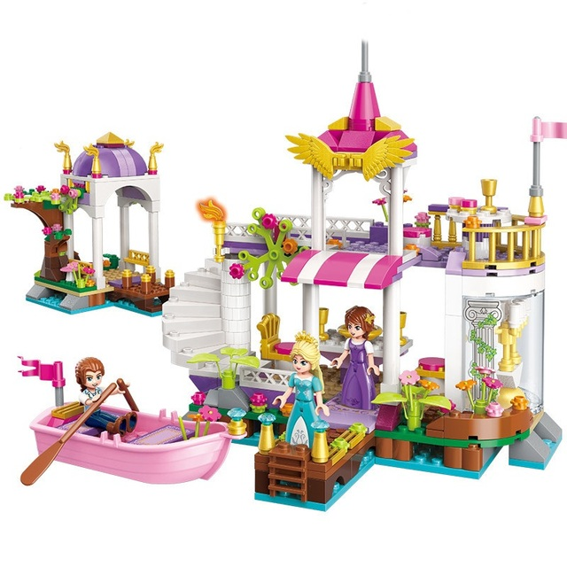 ENLIGHTEN City Wonderland Lake Garden Building Blocks Sets ... on