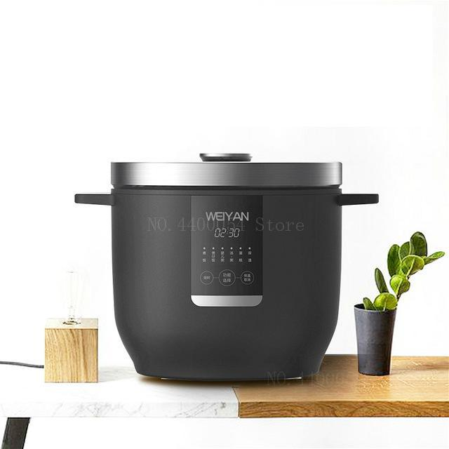 Glorious 2l Electric Rice Cooker Thicken Rice Machine Food Grade Non-stick Coating Removable Lid With Led Touch Panel 350w A Wide Selection Of Colours And Designs