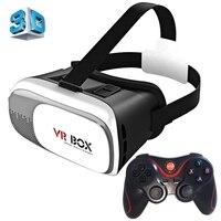 Uniwersalny google tektury pole 2 virtual reality vr okulary 3d gra film kino 3d szkła dla iphone android telefon komórkowy NOWY