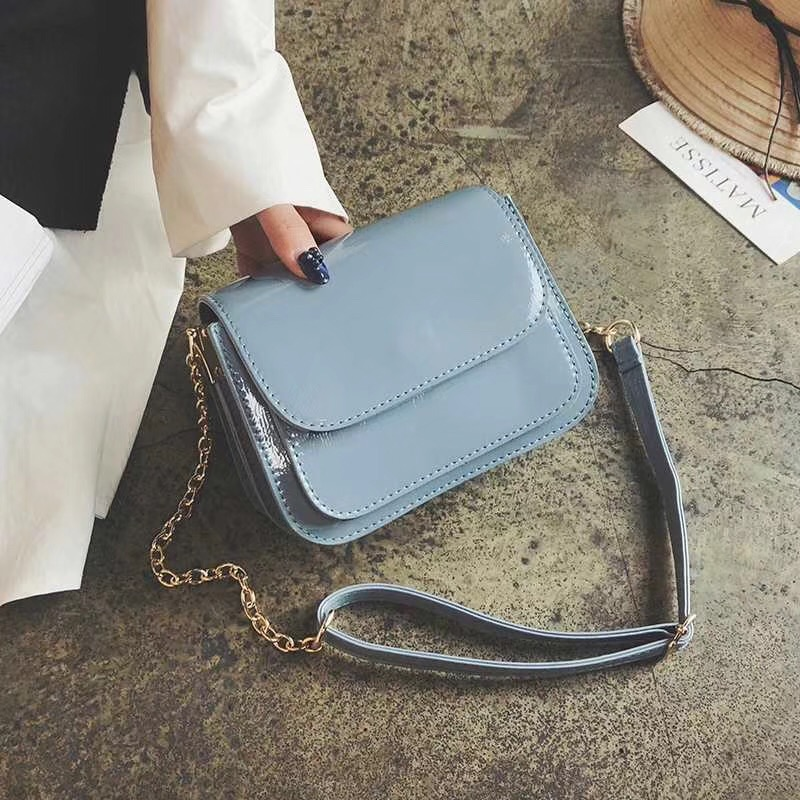 free transport new style Fashion Trend women single shoulder bag Messenger Bags leather quality women patent