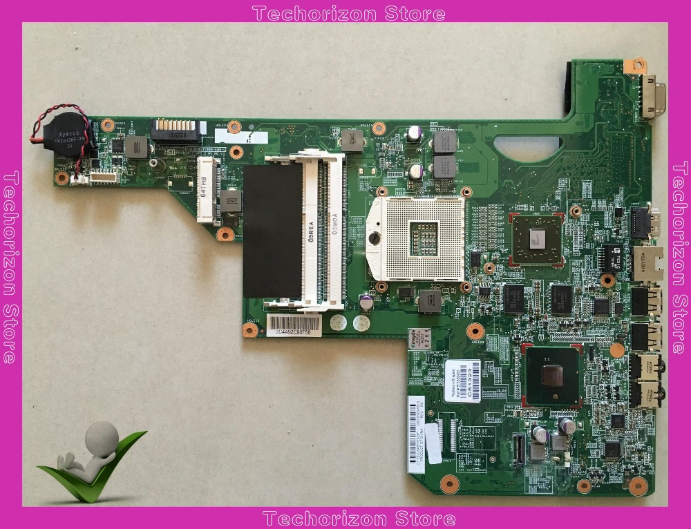 615382-001 615381-001 for HP G62-B25ER G62  laptop motherboard s989 hm55 100% tested working laptop motherboard fit for hp g62 notebook pc main board 615381 001 615382 001 ddr3 hm55 100% tested