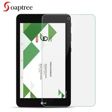 Soaptree Tempered Glass For LG G Pad IV F2 X2 8.0 Tablet Screen Protectors