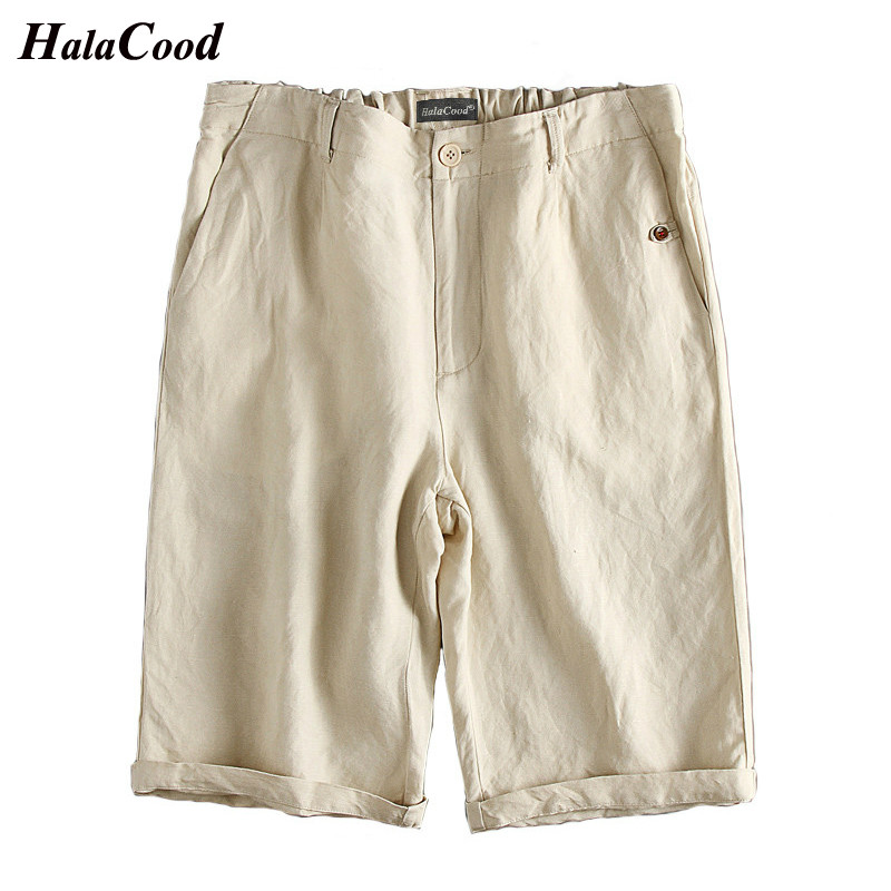 Hot Sell New Fashion Sexy Summer Chinese Style Mens Casual Cotton Linen Shorts Plus Fertilizer Thin Loose Large Size Shorts 5XL ...