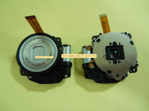 Оригинальный Серебристый Новый зум-объектив запасная часть для камеры Nikon COOLPIX S200 S210 S220 S230 S225