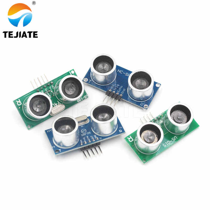 HC-SR04 HY-SRF05 US-015 US-100 Ultrasonic Sensor Module  Distance Sensor DC2.4V-5V Ultrasonic Ranging Module Ultrasonic Sensor