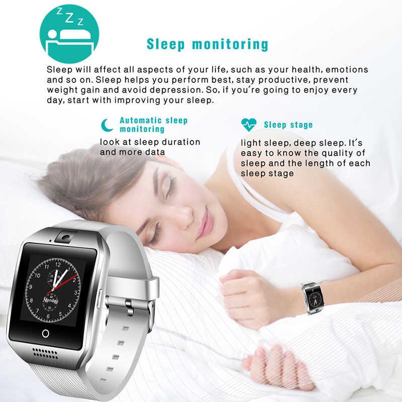 LIGE 新メンズスポーツスマートウォッチブルートゥース音楽プレーヤーサポート SIM カード音声通話健康検出防水スマート腕時計 + ボックス