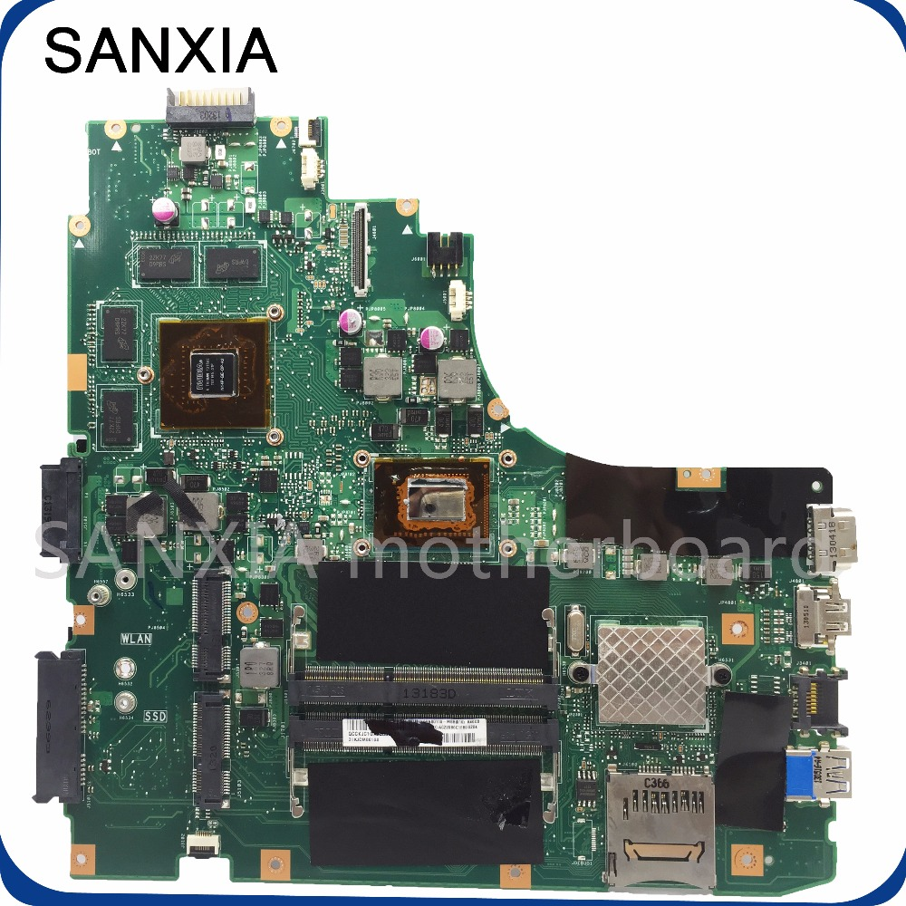 SHELI original K46CM laptop motherboard for ASUS K46CM K46CB K46C motherboard tested mainboard I5-3337U GT740M in stock