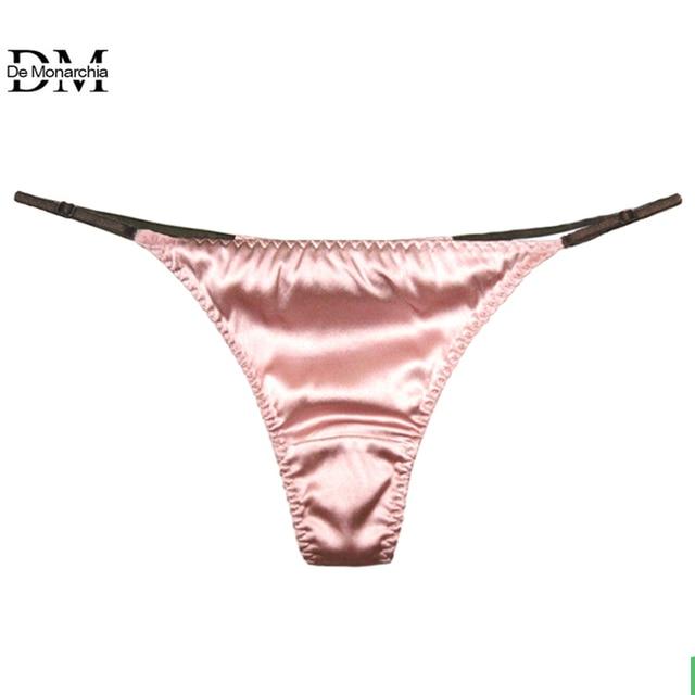 G-string Celana Dalam Sexy Celana Dalam Celana untuk Wanita Sutra Seksi  Tali T Kembali 1daaeaba8b
