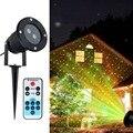 Outdoor Moving Projektor Licht Laser LED Garten Wasserdicht Weihnachten Bühne Lichter Lampe DC112