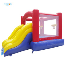 Inflatable Biggors Inflatable Jumping Trampoline With Slide For Kids Toys