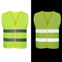 Светоотражающая одежда для автомобиля, защитный жилет для тела, защитное устройство для движения, для бега, велоспорта, спортивная одежда, жилет