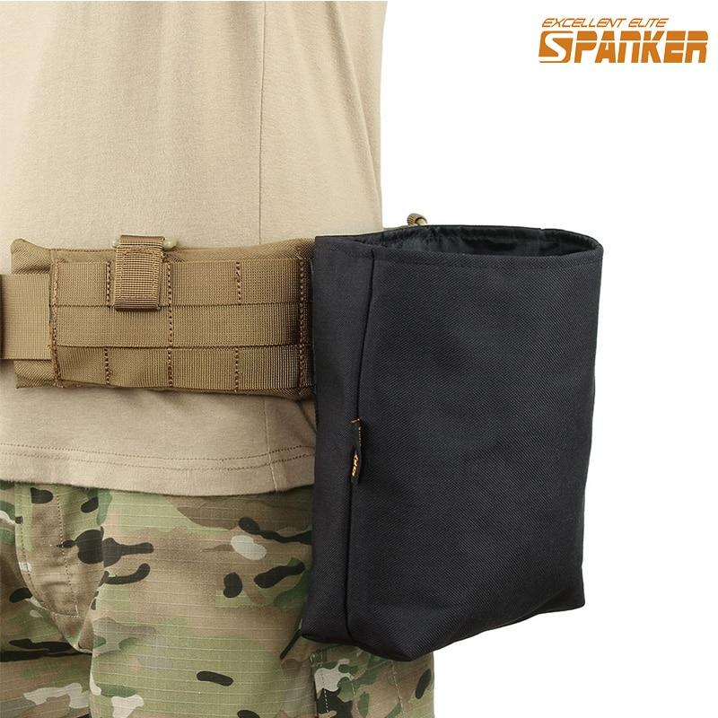 EXCELLENT ELITE SPANKER մարտավարական մոլի վերամշակման քսակ Դյուրակիր ծալովի վերականգնում պահեստային պայուսակ դրսում որսորդական ռազմական տեխնիկա